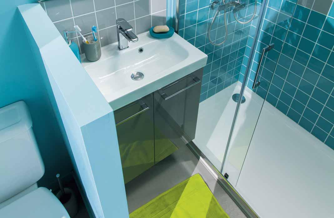 isoler le wc dans la salle de bains