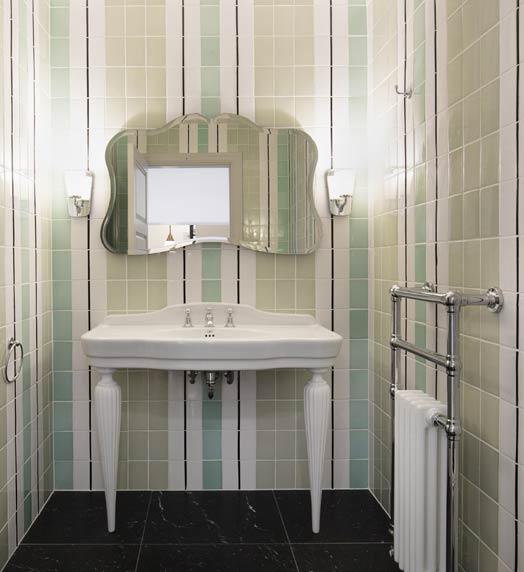 salle de bains de style anglais