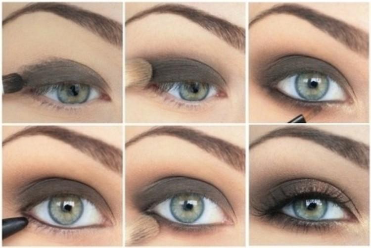 Black Smokey Eye Makeup Tutorial Step By Makeupsite
