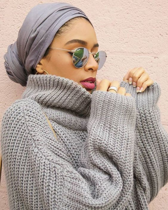Top Winter Hijab Styles With Tutorials 2017 18 That Will