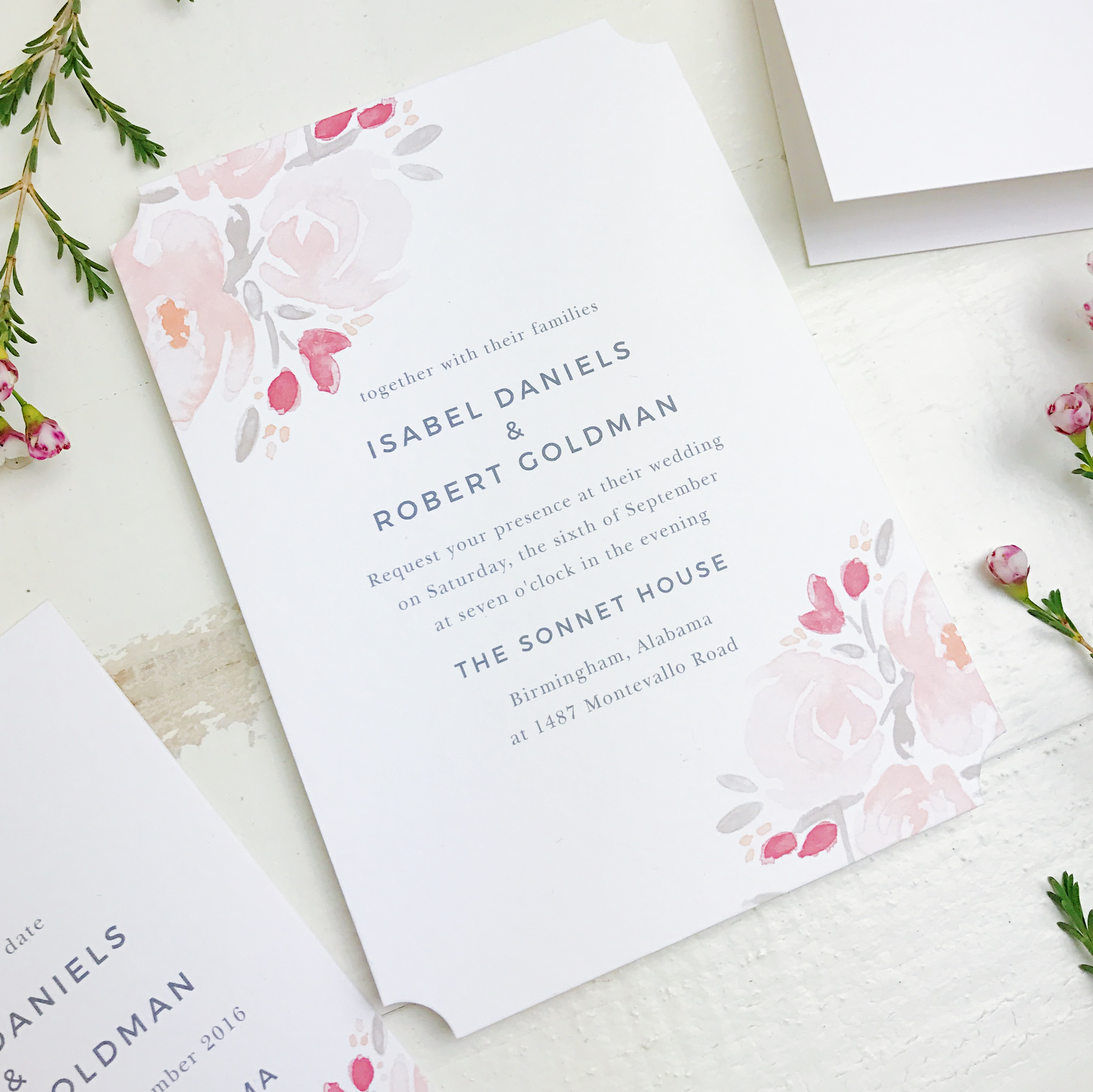 Stylish Wedding Invitations