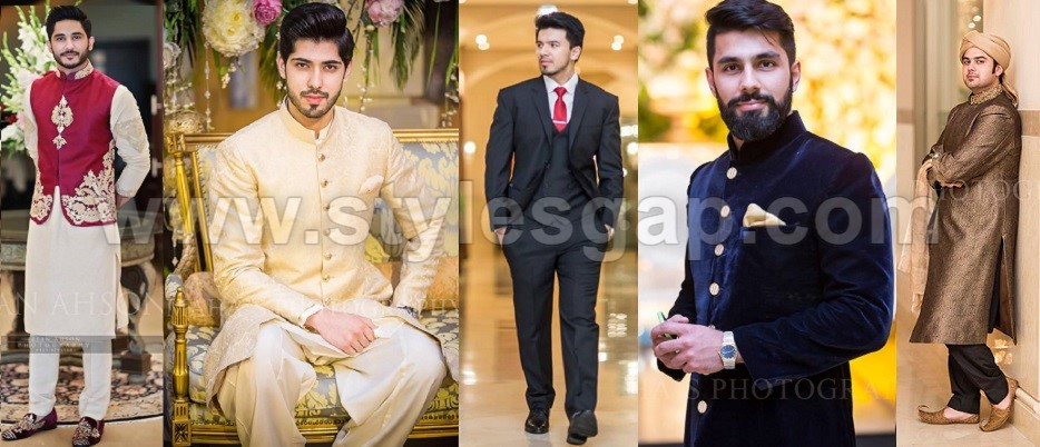 Pakistani Mehndi Dresses 2017 Boys