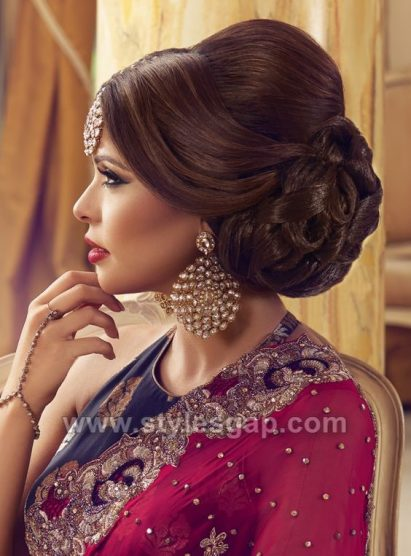 Latest Asian Party Wedding Hairstyles 2018 2019 Trends
