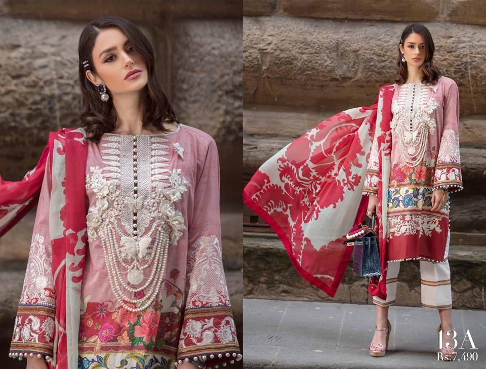 Three-Piece Printed Dresses
