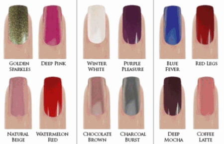 Nail Colors For Winter Autumn 2017 15