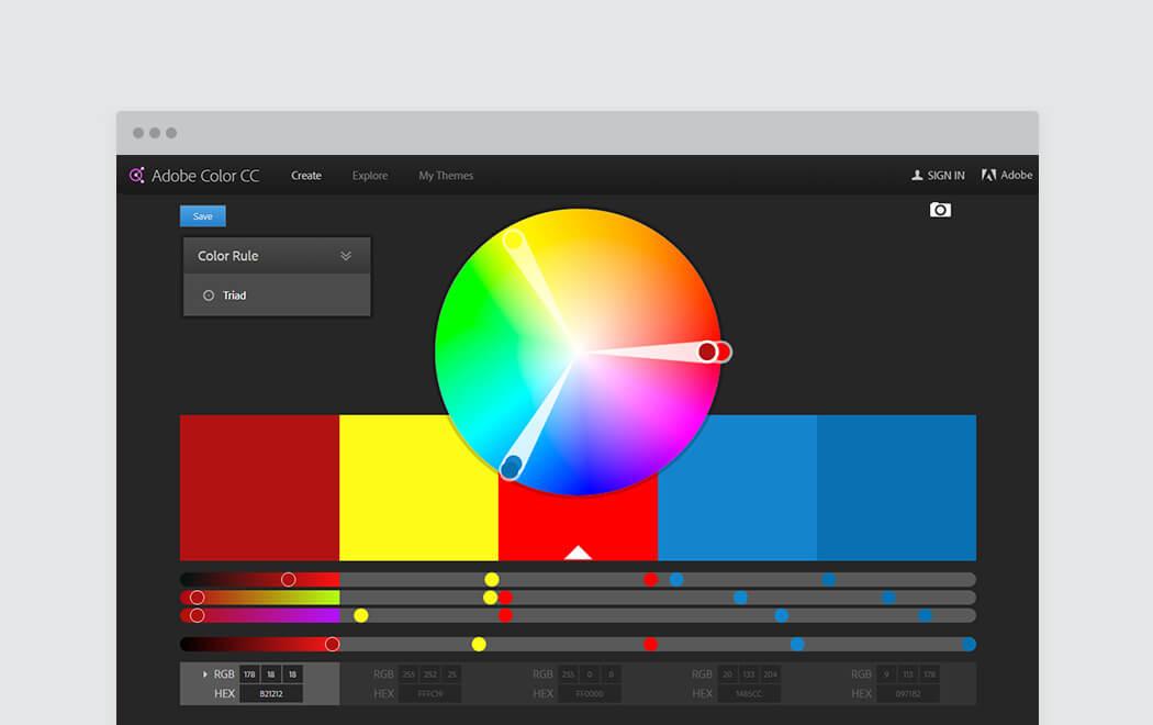 Adobe color scheme online dating