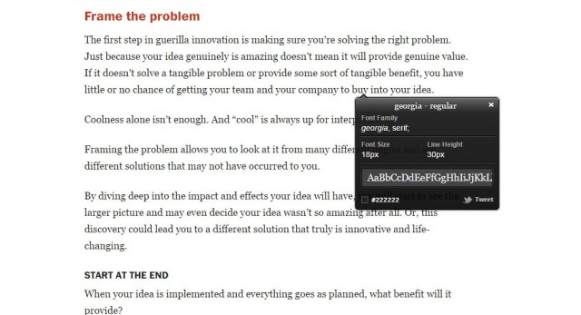 Chrome Extension for Web Designers - WhatFont