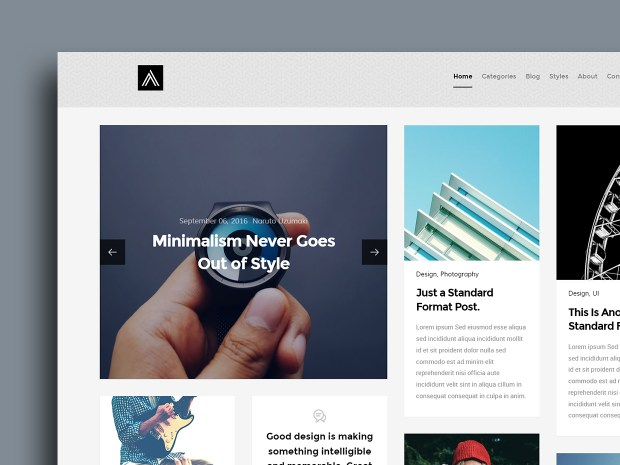 Free Website Template - Abstract 01