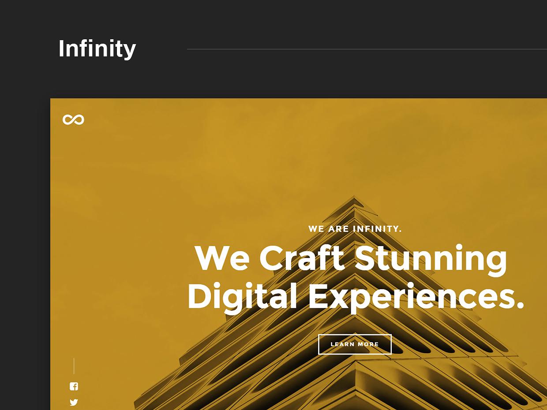 Free Website Template - Infinity