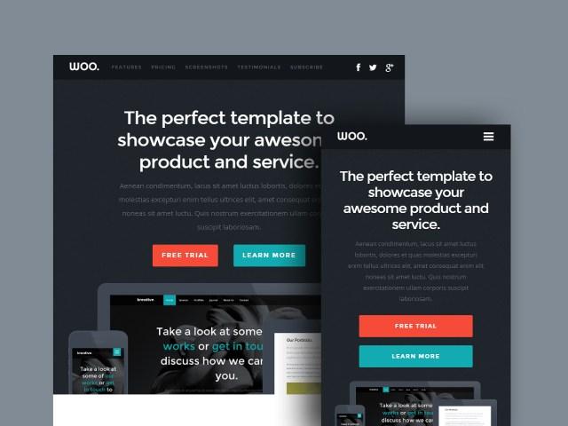Free Website Template - Woo