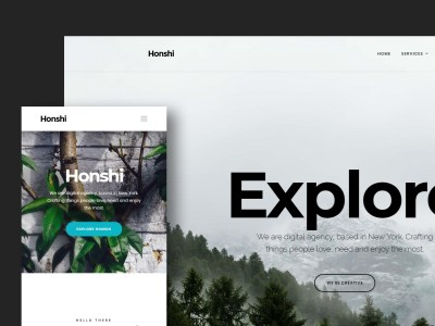 Honshi - Creative Multi Purpose Template