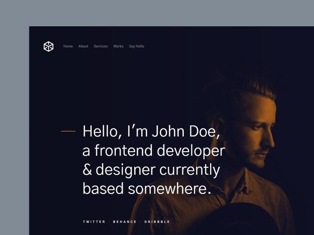 Free Website Template - Ethos 01
