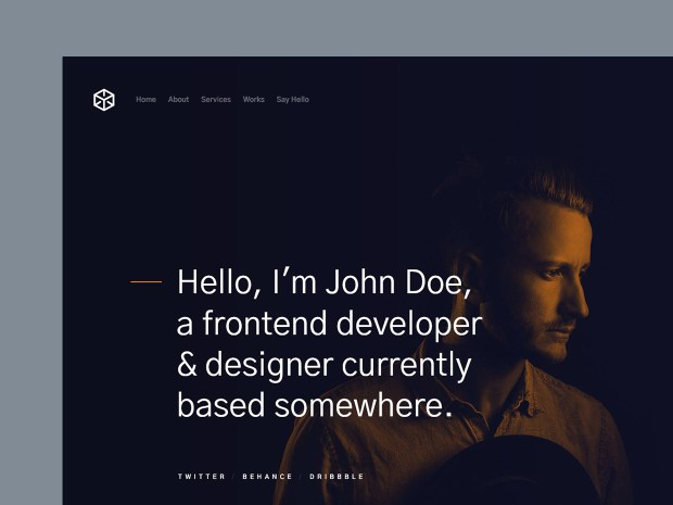 Free Website Template - Ethos 01