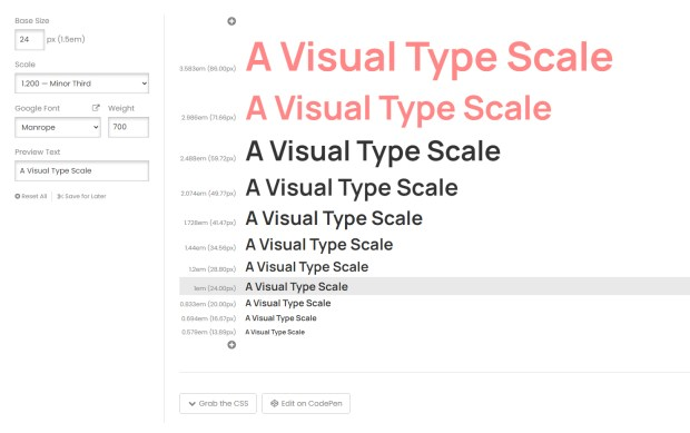 Manrope - Online Type Scale Calculators Every Designer Should Know