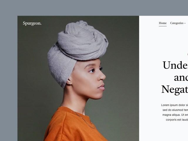 Spurgeon - Free HTML Blog Template - 01