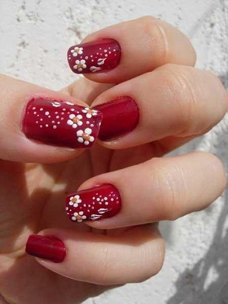 Nails 2017 Nail Art Christmas Design Red