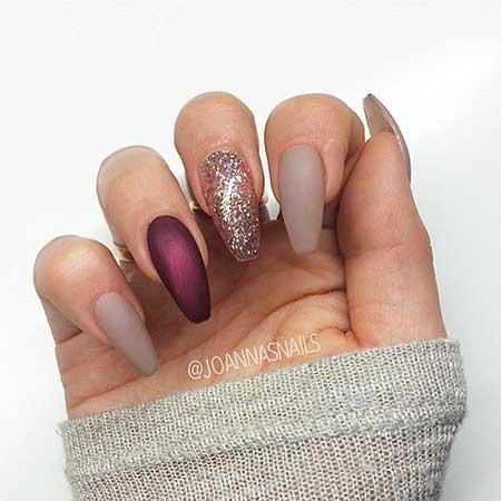 9 Nail Designs 2017 Matte