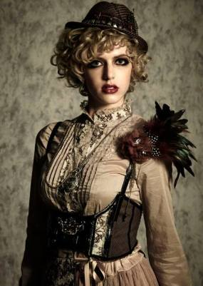 Image result for steampunk fashion