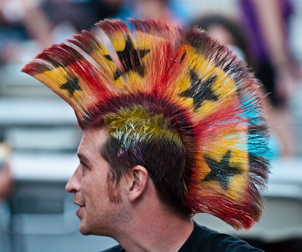 Learn How To Do A Mohawk Hairstyle