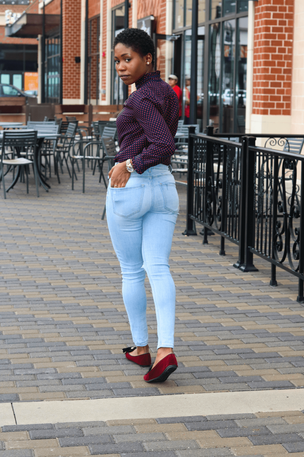 chic in loafers