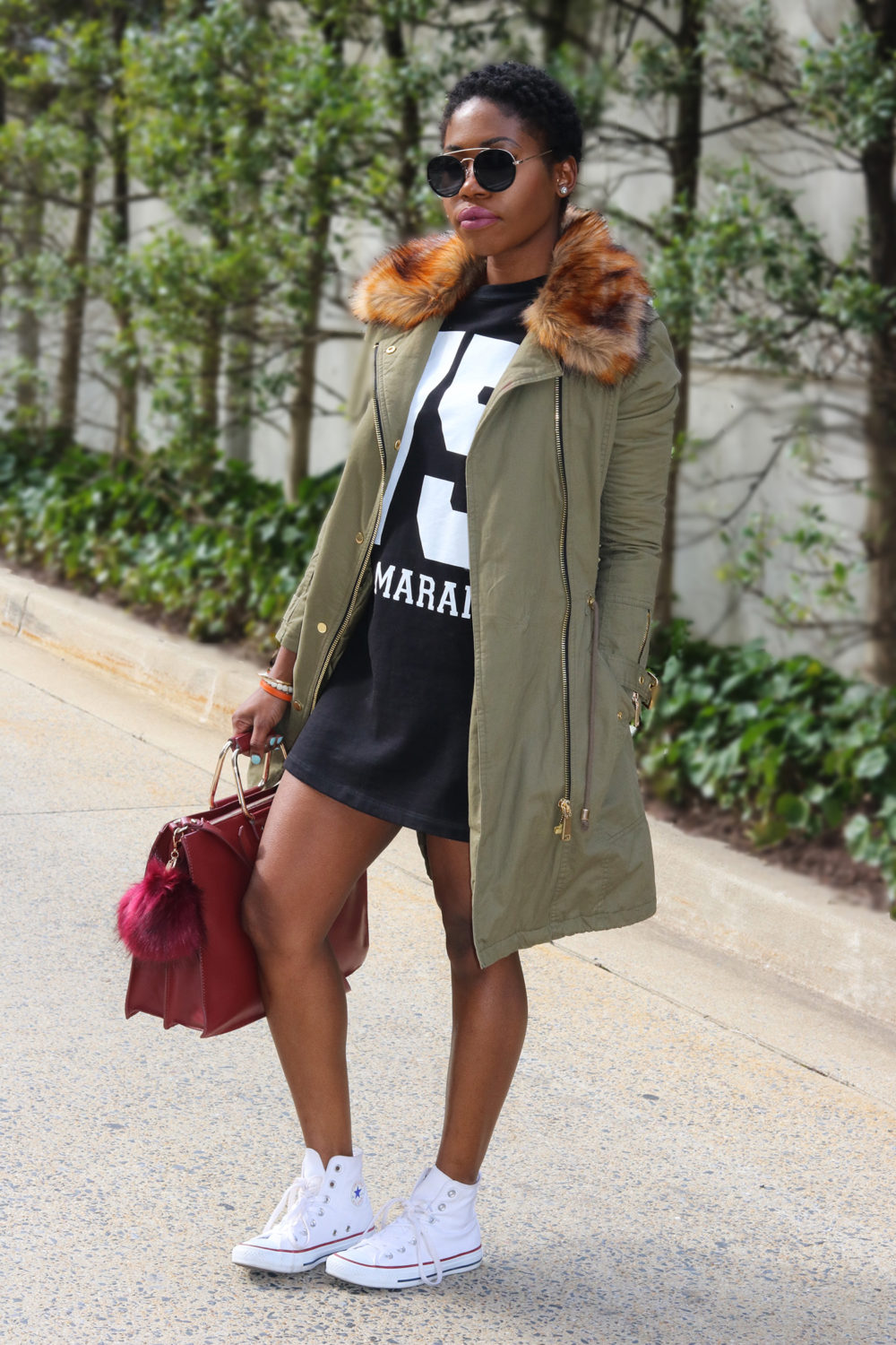 chic in a parka