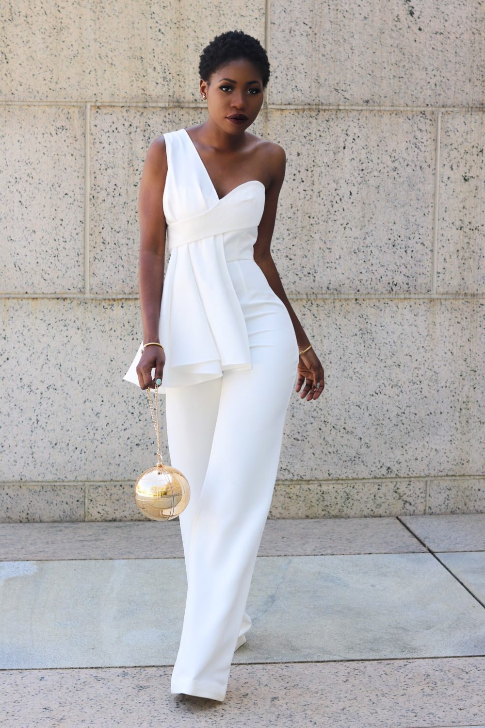 style synopsis flared jumpsuit