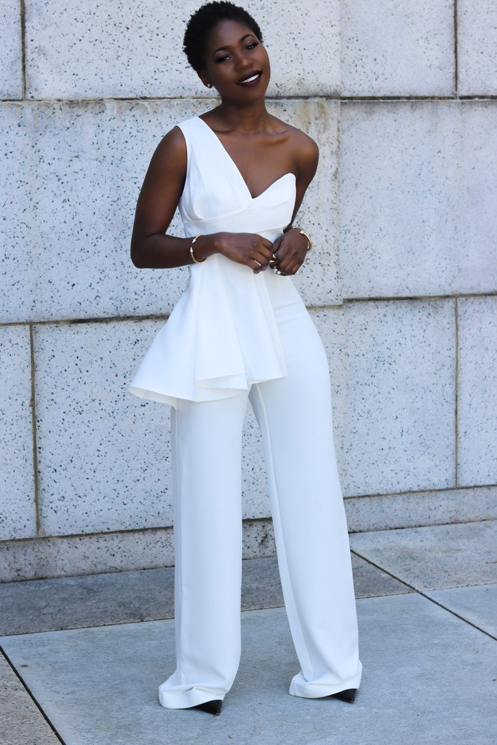 style synopsis sculpted jumpsuit