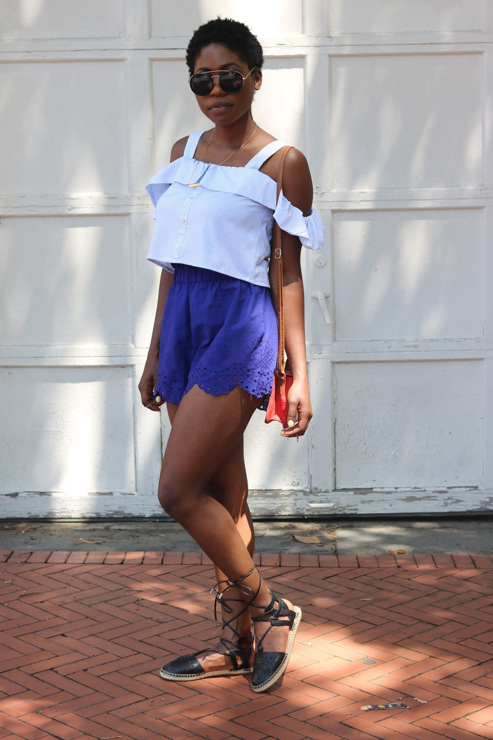 style synopsis embroidered shorts trend
