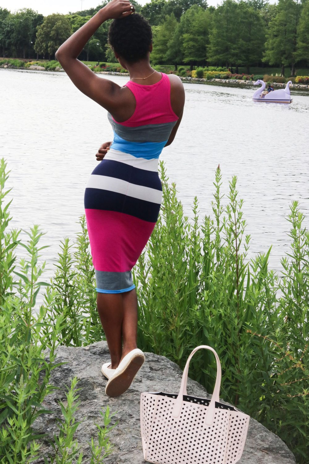 style synopsis multicolor dress