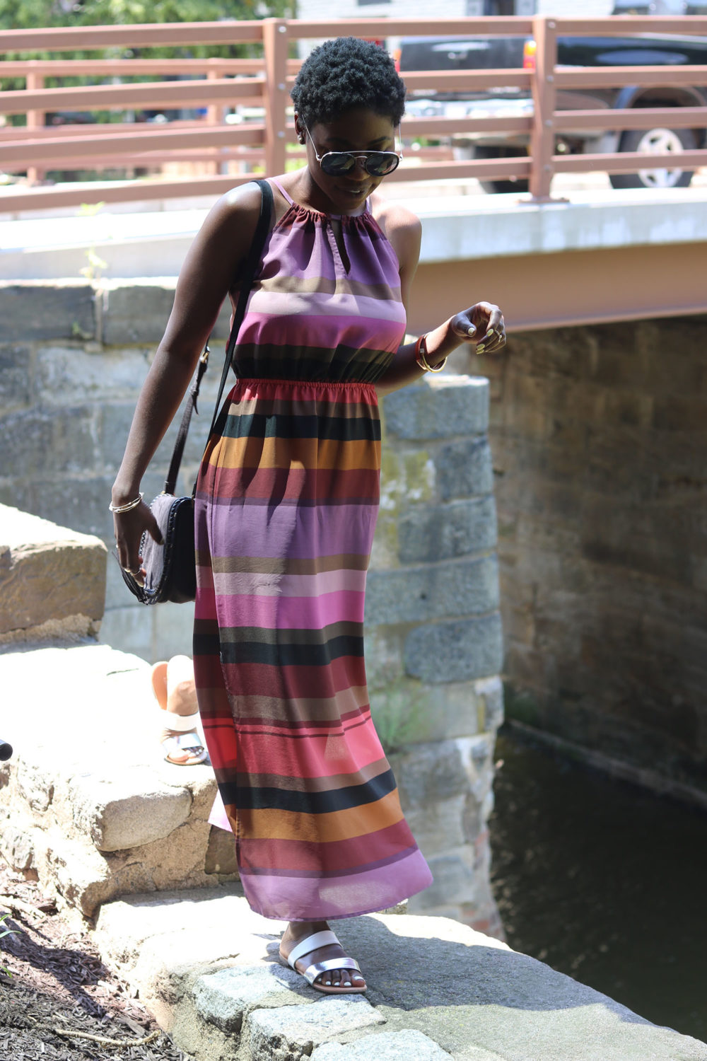 style synopsis multicolored dress