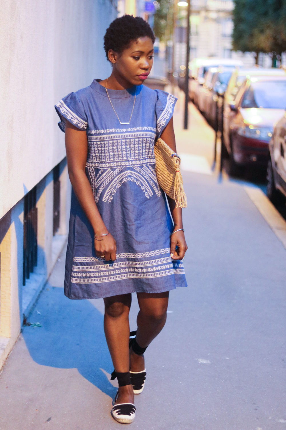style synopsis chambray dress