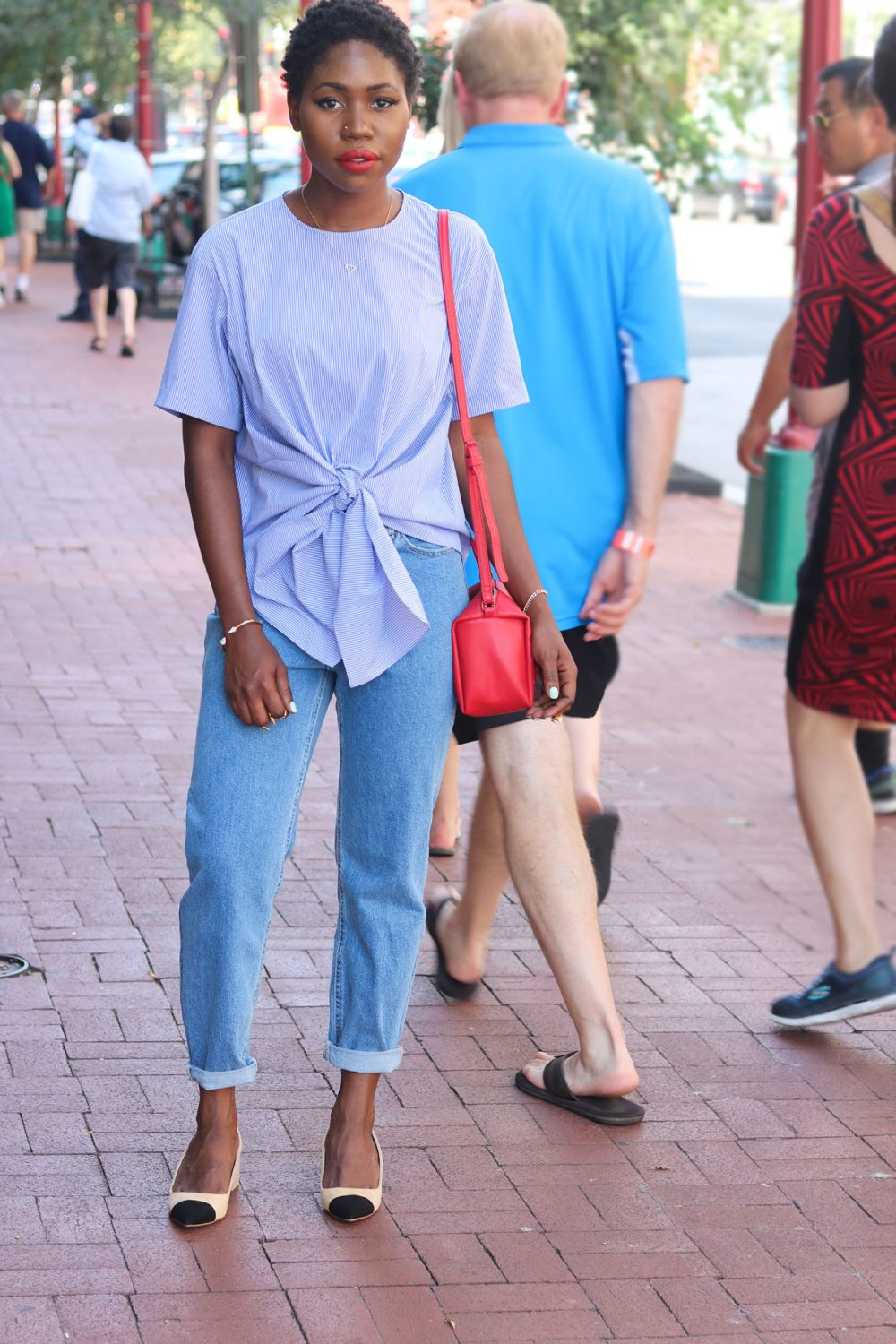 style synopsis denim mom jeans