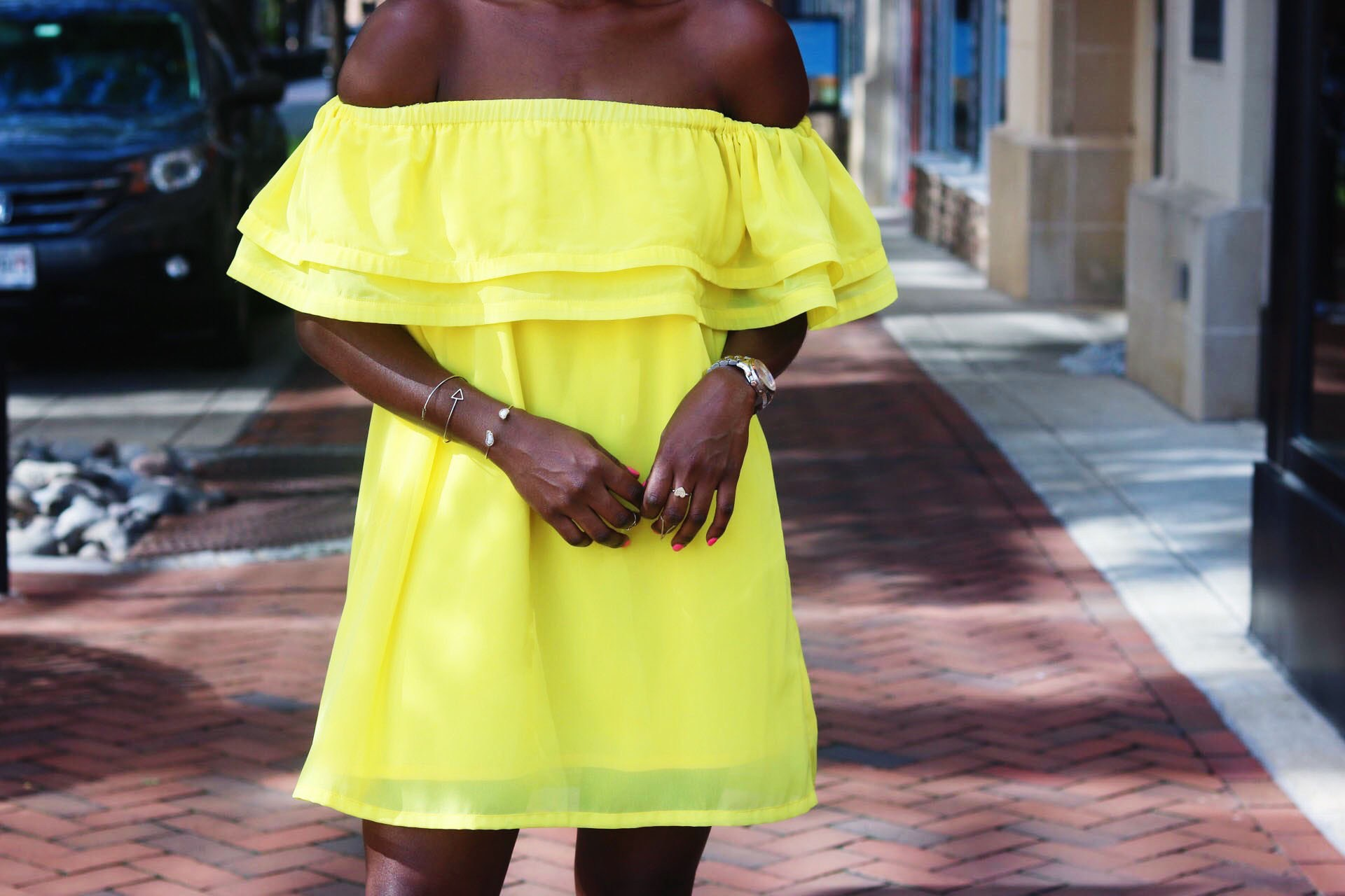 style-synopsis-off-shoulder-yellow-dress