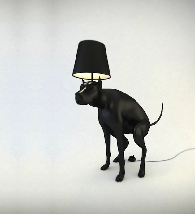 Pooping Dog Lamp By Whatshisname