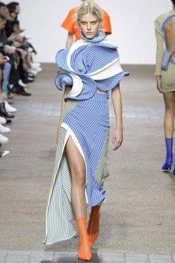 Fashion East London Spring 2017 Trends // Photo via Vogue.com