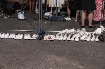 Backstage at Fashion Week, Nolcha Shows, Lu Yang