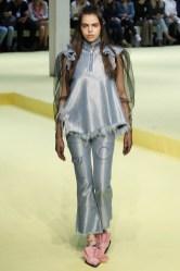 Marques'Almeida London Spring 2017 Trends // Photo via Vogue.com