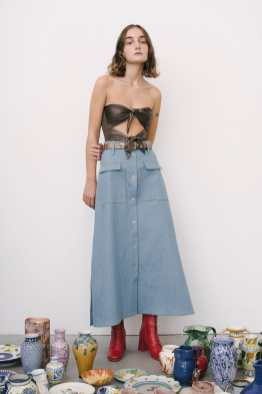 Maryam Nassir Zadeh SS17 New York Fashion Week Trends Image via Vogue.com