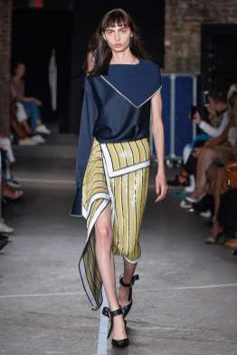 Monse SS17 New York Fashion Week Trends Image via Vogue.com