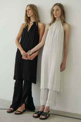 Raquel Allegra SS17 New York Fashion Week Trends Image via Vogue.com