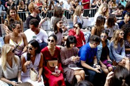 Backstage at Fashion Week: Style Tomes at Rebecca Minkoff, Front Row