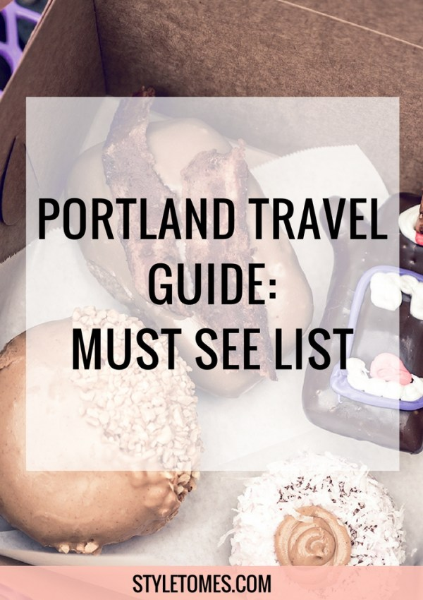 The Quick Portland Travel Guide: What To Do in One Day