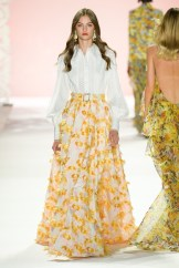Badgley Mischka New York Fashion Week Spring 2020 ©Imaxtree