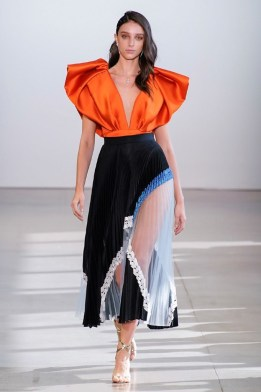 Bibhu Mohapatra New York Fashion Week Spring 2020 ©Imaxtree