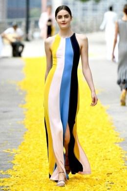 Lela Rose New York Fashion Week Spring 2020 ©Imaxtree