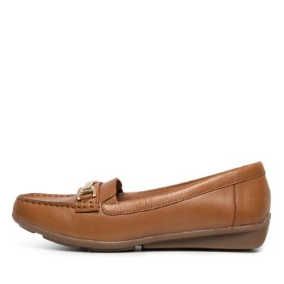 Supersoft Lockney Dark Tan E Shoes