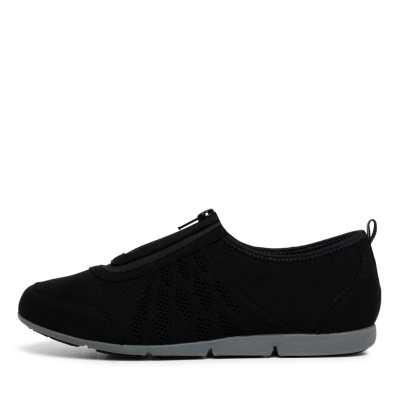 Supersoft Samra Black Sneakers