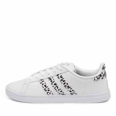 Adidas Courtpoint X W Ad White White Black Sneakers Womens Shoes Casual Casual Sneakers