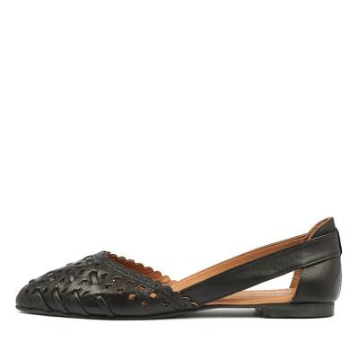 Beltrami Calandra Black Shoes
