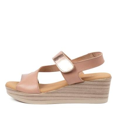 Beltrami Liliana Be Nude Rose Gold Sandals